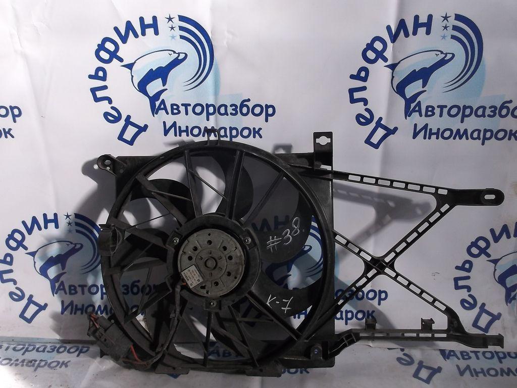 1341386 Диффузор радиатора в сборе OPEL Astra H 2004-2010