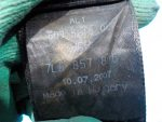 7L6857806BHCP Ремень безопасности задний правый VOLKSWAGEN Touareg 2002-2010